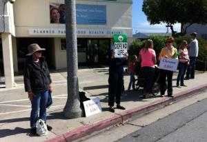 Planned Parenthood Prayer Vigil, Every Friday from 10:00AM - Noon 625 Hilby Ave, Seaside, CA